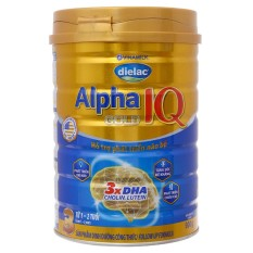 Sữa Bột Dielac Alpha Gold 3 Lon 900g – Dành cho bé 1-2 tuổi – HSD luôn mới