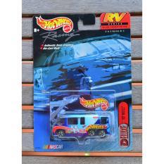 Ô tô mô hình tỉ lệ 1:64 Hot Wheels Nascar GMC Motor Home Deluxe số 44