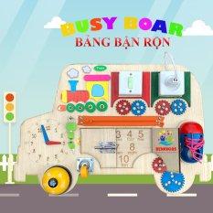 Đồ Chơi Gỗ Bảng Bận Rộn Busy Board Hình Ô Tô Khổng Lồ Phiên Bản Mới Nhất Năm 2020 Đồ Chơi Trẻ Em Benrikids