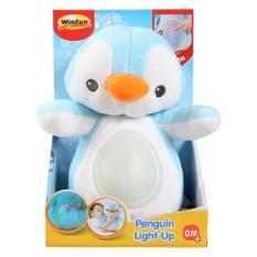 Chim cánh cụt giai điệu nhạc trắng ru ngủ cho trẻ sơ sinh có đèn Winfun 0160 – hộp nhạc ru ngủ cho trẻ sơ sinh