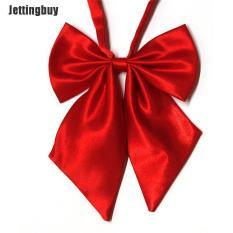Jettingbuy Phụ Nữ Lady Girls Bướm Bướm Nơ Lụa Nơ Nơ Chính Thức 2017 Đỏ