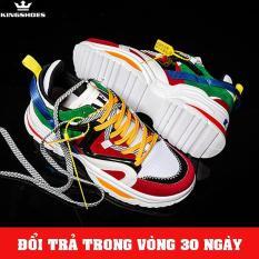 Giày Sneaker Nam Cao Cấp Phong Cách Hàn Quốc 2019 (Giá Siêu Sốc) – KINGSHOES (KS24)