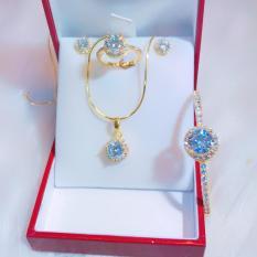 Bộ trang sức nữ Migashop VB401071903 – đeo đi đám cưới vô cùng quý phái
