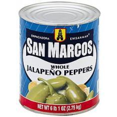 Ớt trái ngâm – Whole Jalapeno Pepper 2.75kg