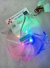Quạt – Fan Case 12Cm, đèn Led màu – F120 – Có ốc vặn