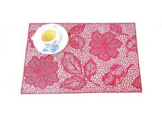 Miếng lót bàn ăn FY 311 hoa văn hồng (45 x 30 cm)