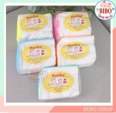 [HCM]Khăn Sữa Gạc 4 Lớp5 Lớp HotGa (25x27cm) Khăn Sữa Cho Bé Sơ Sinh