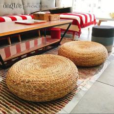 Đôn lục bình đan thủ công, Đôn bèo, đôn lục bình để ngồi, đôn decor, ghế trang trí, ghế tròn trang điểm (Hàng XK) | ongtre® (Vietnam)