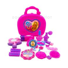 Đồ chơi trang điểm cho bé gái nhiều chi tiết kèm phụ kiện màu hồng 1598AB cho bé – đồ chơi trẻ em – Freeship NT HCM – Đồ khuyến mãi giá tốt