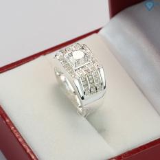 Nhẫn bạc nam đẹp đính đá sang trọng NNA0066 – Trang Sức TNJ