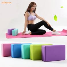 Gối, Gạch Tập Yoga PVC Cao Cấp – Gối Yoga – Giao Màu Ngẫu Nhiên