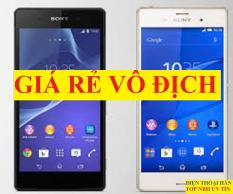 điện thoại Sony Z3 / Sony Xperia Z3 ram 3G/32G mới, chơi Game mượt, Camera nét