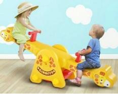 Bập bênh đôi con hươu có đế RK-701 – cầu trượt cho bé, đồ chơi trẻ em, cầu tượt, đồ chơi vận động