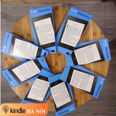 Máy đọc sách Kindle Paperwhite gen 4 (10th) với chế độ Darkmode, màn hình 6inch 300PPI chống nước IPX8