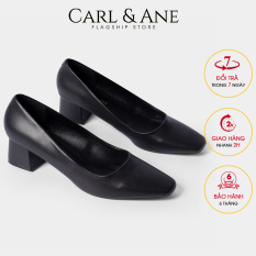 Carl & Ane – Giày cao gót thời trang nữ bít mũi kiểu dáng cơ bản cao 5cm CP004 (BA)