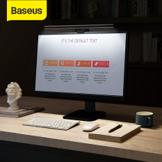 Baseus LED Screenbar Light Computer Desk Lamp Touch Control Stepless Dimming Hanging Light For Home Office LCD Monitor Lamp Study Eye Protection Reading Light