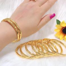 Vòng tay vàng 18k dạng trơn không phai màu Midoshop VV15041916 – làm quà tặng bất ngờ vô cùng ý nghĩa( 1chiếc )