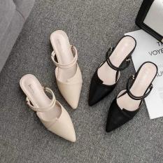 Giày Sandal nữ đi được 2 kiểu sục và sandal (kèm clip thật)