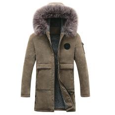 Áo khoác nam áo phao nam lót lông dáng dài Hotrend 2020 mùa đông cực rét 0251