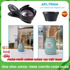 Ống kính Apexel 70mm2.5X tele chuyên chụp chân dung xóa phông, cam kết sản phẩm đúng mô tả, chất lượng đảm bảo