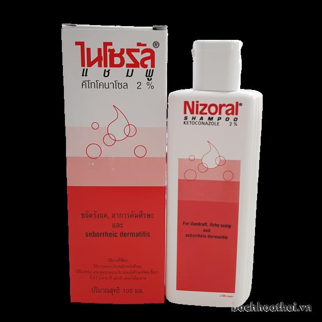 Dầu gội ṫrị ǥàu, ņấm Nizoral Shampoo Ketoconazole 2% – 50ml