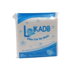 Miếng lót sơ sinh chống thấm LIKADO (1 gói)