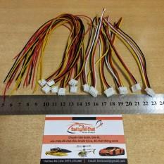 Dây nối Jack 3P Jack 4P để chế chân sạc của pin 2S và 3S