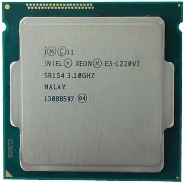 Bộ vi xử lý Intel xeon E3 1220 v3 mạnh ngang Core i5 4460 .