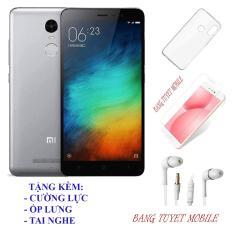 Điện Thoại Xiaomi Redmi Note 3 (3GB/32GB) – Tặng kèm Kính cương lực, Ốp lưng, Tai Nghe – Có sẵn Tiếng Việt