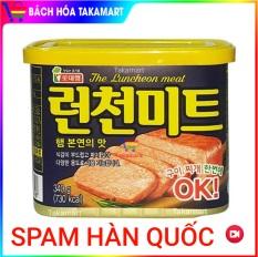 [Date: 25/03/2023] Thịt heo hộp Spam Hàn Quốc 340g Korea, thịt hộp The Luncheon meat, Thịt heo hộp Spam Truyền thống Hàn Quốc, Thịt đóng hộp, Thịt hộp, thịt Spam Hàn quốc, Thịt hộp Hàn quốc – Bách hóa Takamart