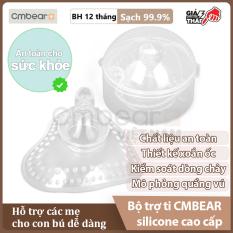 Bộ Trợ Ti CMBEAR Cho Mẹ Có Núm Vú Thụt – Trợ ti silicone cao cấp không chứa BPA, an toàn tuyệt đối – Chính hãng CMBEAR – CMB15