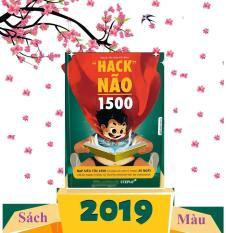 ( Bản Mới 2019 Có Màu ) Sách – Hack Não 1500 Từ Vựng Tiếng Anh – tặng kèm audio