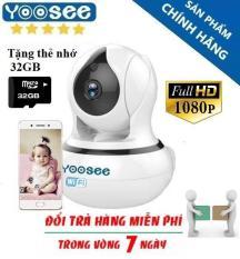 [Tặng Thẻ Nhớ 32GB] Camera WIFI YOOSEE 360 Độ – Độ Phân Giải 2.0M – 1080P – Camera Wifi Đàm Thoại 2 Chiều