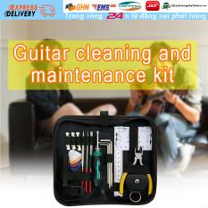 【Trong 24h gửi hàng】Bộ dụng cụ sửa chữa guitar đàn ghi ta chuyên dụng kèm pick guitar thước đo cờ lê lục giác kìm chốt đàn guitar