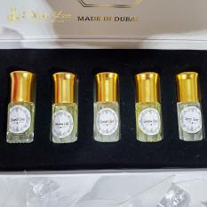 Nước hoa Nữ, Nước Hoa Mini Dubai chai lẻ và set 5 chai thiết kế – Bestore VN