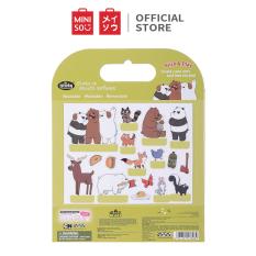 Đồ chơi dán hình 3D Miniso We Bare Bears – Hàng chính hãng