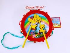 Đồ chơi trẻ em – Trống trung thu vui nhộn cho bé kèm Dùi trống – Dreamworld