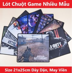 Lót Chuột Chơi Game 25x20cm Độ Dày 2mm May Viền Chắc Chắn Đa Dạng Hình Giao Hàng Ngẫu Nhiên Bàn Di Chuột Cho Máy Tính PC Laptop Gaming – XSmart