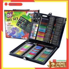 Hộp bút màu 150 chi tiết⚡⚡Đồ chơi vận động, sáng tạo – Kích thước 37.5 x 31 cm