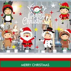 Decal trang trí GIÁNG SINH và Noel độc đáo, họa tiết dễ thương dễ sử dụng