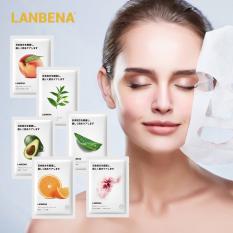 LANBENA Mặt nạ dưỡng ẩm làm trắng da kiểm soát dầu chiết xuất từ trái cây thực vật 25ml – intl