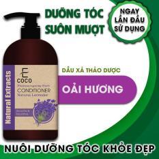 Dầu xả thảo dược dưỡng tóc chiết xuất oải hương Ecoco 180g