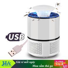 Đèn bắt muỗi và diệt côn trùng thông minh Mosquito Killer cắm cổng USB GDTRUONG51