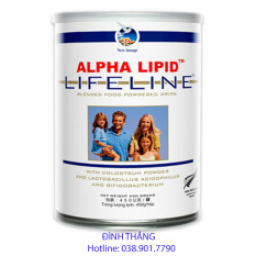 Sữa Non Alpha Lipid 450g Của New Zealand (Cam Kết Chính Hãng)
