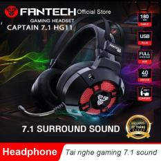 Tai nghe FanTech HG11 Captain 7.1 có LED RGB – Hãng Phân Phối Chính Thức