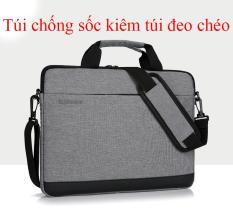 Túi chống sốc kiêm túi đeo chéo cho laptop Huiphone