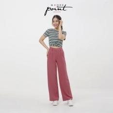 Quần ống suông nữ monde point mpwa071910, kiểu dáng thanh lịch, nữ tính với chất liệu cao cấp, màu sắc nhã nhặn, dễ phối với nhiều trang phục, phụ kiện khác nhau