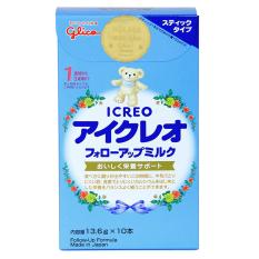 Sữa Glico Icreo số 1 hộp giấy 10 gói nội địa Nhật Bản