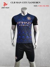 Bộ quần áo bóng đá đẹp CLB MC Màu Xanh Đen đồ đá banh mới 2020-2021