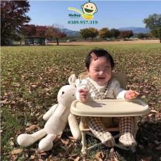 Ghế ăn dặm gấp gọn Hoo Booster Hàn Quốc cho bé – Ghế ăn dặm du lịch